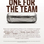 Chipotle Fundraiser - August 22