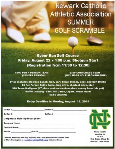 Golf flyer - NCAA