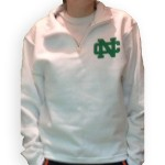 White NC Fleece