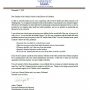 Safety protocols during the break - Letter from Superintendent