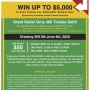Win Up To $5000 in Tuition - NCAA Tuition Raffle