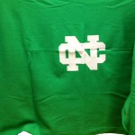 Green NC Stadium Blanket