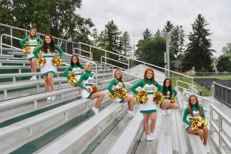 2017 Varsity Football Cheerleading