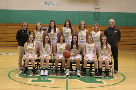 2017-2018 Girls JV Basketball