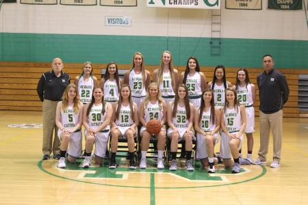 2017-2018 Girls Varsity Basketball