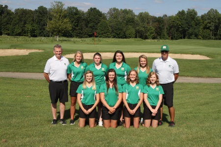 2017 Girls Golf, Varsity