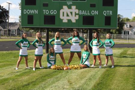 2021 Varsity Football Cheerleading