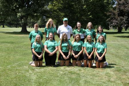 2021 Girls Golf, Varsity